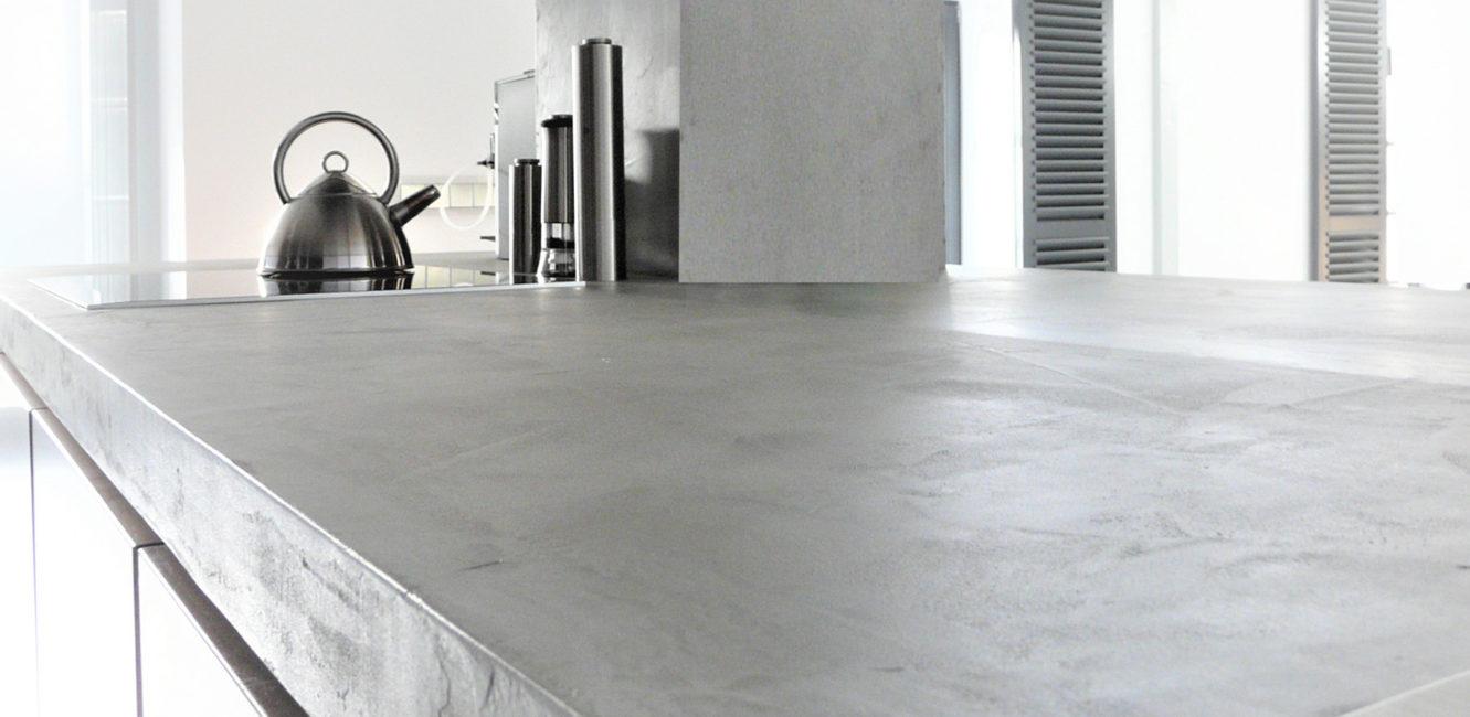 Beton Ciré ist ein Betonputz, der Ästhetik und Industrie Stil verbindet