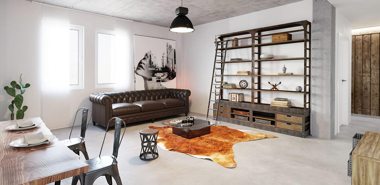 Beton Floor und Beton Wall -Feinputz für Bäder, Duschen, Küchen, Saunen