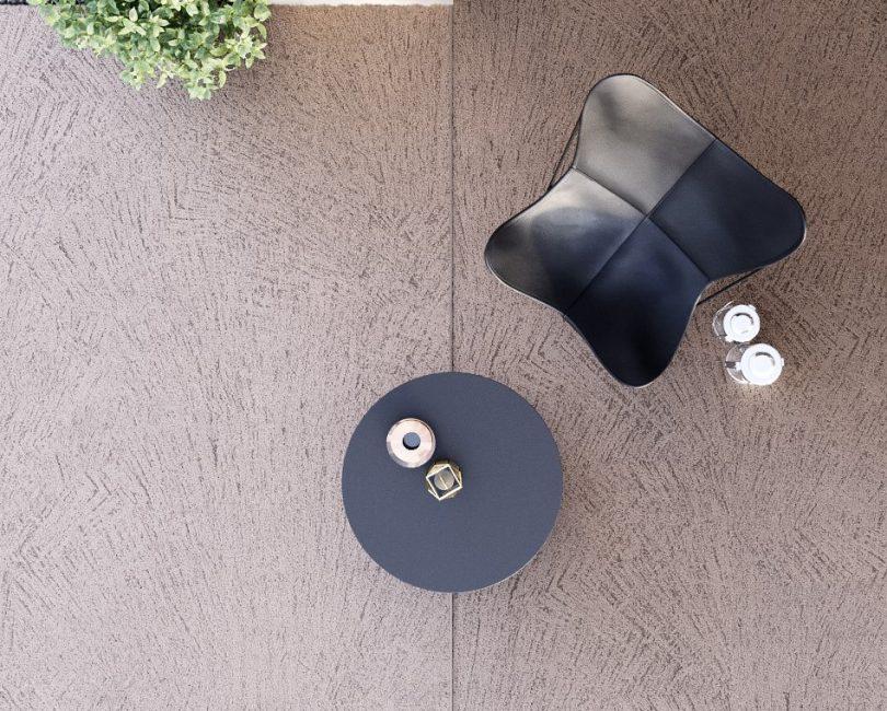 Rasico® besteht aus Quarzsand und wasserlöslichem Polymer.
