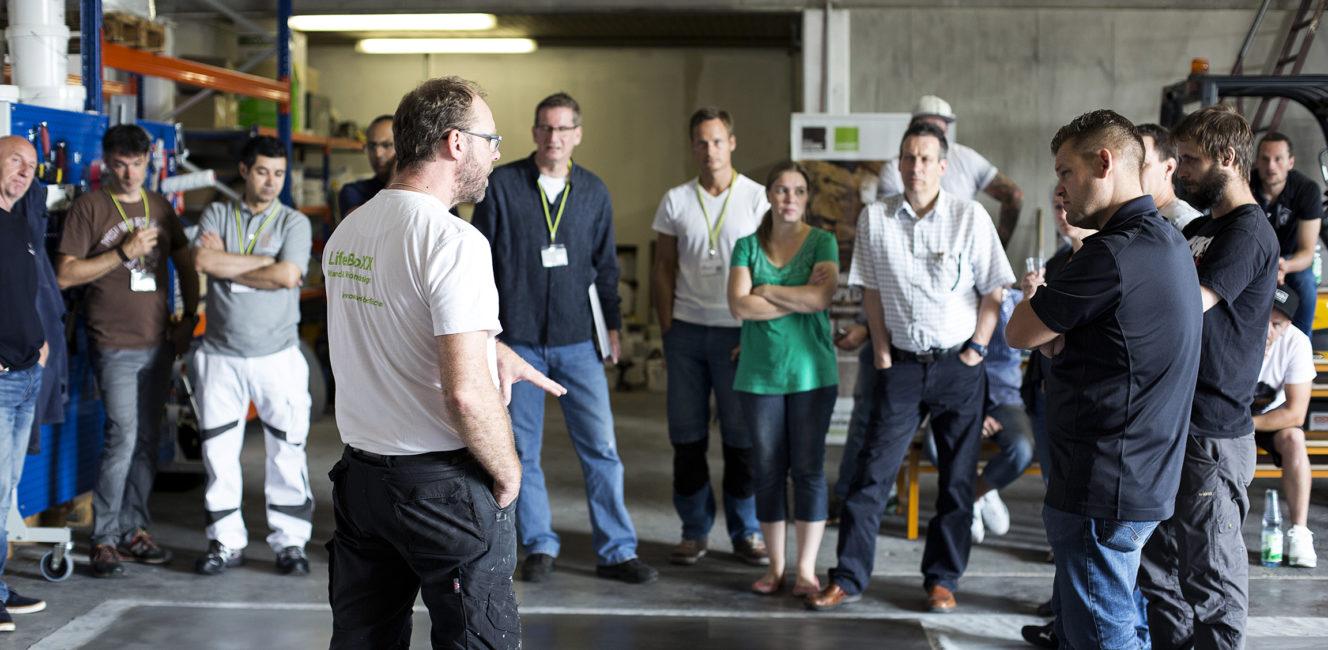 Workshops - Lernen Sie unsere Werkstoffe kennen und verabeiten