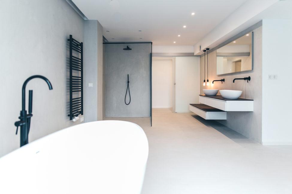 Material: Beton Floor und Wall;