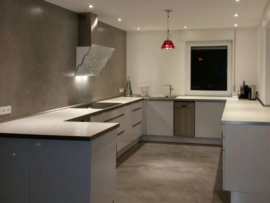 Material: Beton Floor und Wall,